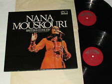 NANA MOUSKOURI British Concert 2-LP Fontana Records Canada 6651 003 Vinyl NM/NM