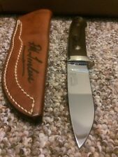 Original R.W. Loveless Drop Point Hunter/naked Lady/signed Sheath.mint-unused!