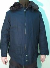 Russian Dark Blue Pilot Air Forces Warm Jacket for Cold Weather