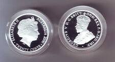 2000 Silver 20 Cent Proof Coin Queen Elizabeth King George V ex Masterpieces in