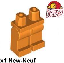 Lego - 1x figurine minifigurine jambe Hips and Legs orange 970c00 NEUF