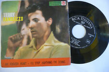"TEDDY RANDAZZO""MY FOOLISH HEART-disco 45 giri RCA Italy 1960"""