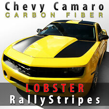 Chevy Camaro CF LOBSTER Carbon Fiber Rally Stripes 2010 2011 2012 2013 Decal Set