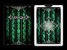 V005-1 New Rare Ellusionist Artifice Playing Cards V2 Emerald Green Bicycle Deck