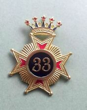 Rose Croix 33 Degree  Collar Jewel (high Quality ) Limited  Offer