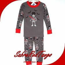 NWT HANNA ANDERSSON ORGANIC LONG JOHNS PAJAMAS STAR WARS DARTH SKELETON 90 3T 3