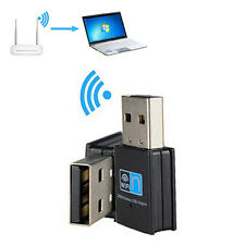 Faster 300M USB WiFi Wireless LAN 802.11 n/g/b Adapter Nano Network 300Mbps X1PC