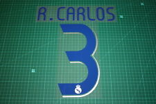 Real Madrid 06/07 #3 R. CARLOS Homekit Nameset Printing
