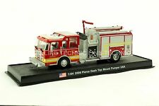 Giant Fire Truck Pierce Dash Top Mount Pumper 2006 USA Diecast Model 1:64 No 16
