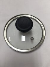 T-Fal 01 14 CM Emerilware Stainless Steel Pot Pan Glass Lid With Knob