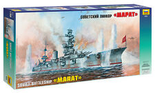 "ZVEZDA 9052 SOVIET BATTLESHIP ""MARAT"" SCALE MODEL KIT 1/350"