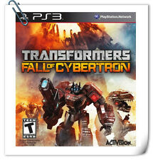 PS3 Transformers Fall of Cybertron SONY PLAYSTATION Games Action Activision