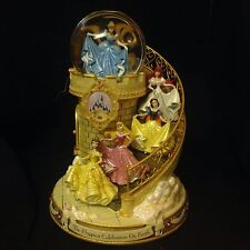 Disney Princesses Staircase HAPPIEST CELEBRATION ON EARTH Musical SnowGlobe-MIB