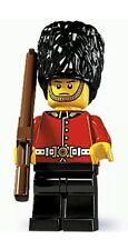 LEGO MINIFIGURE MINIFIG SERIES 5 BRITISH ROYAL GUARD SENTRY & RIFLE 8805 CMF NEW