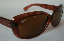 Vintage RB Ray-Ban 4101 716 Jackie OHH Tortoise Sunglasses ITALY Ladies Medium