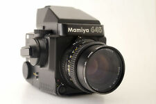 Mamiya 645 Super Camera + 80mm f2.8 N Lens + Prism Finder / Medium Format 120