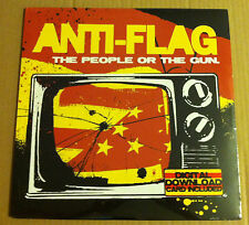 ANTI FLAG The People or the Gun Vinyl LP 2009 FACTORY SEALED USA Seller