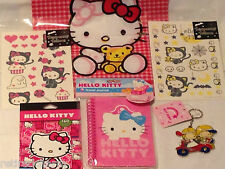 ❤️HELLO KITTY LOT �� Christmas ��Tattoos ~Stickers ~Birthday ~Party Favors NEW❤️