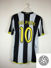 Juventus DEL PIERO #10 08/09 Home Football Shirt (L) Soccer Jersey Nike