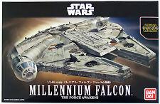 Bandai Star Wars Millennium Falcon 1/144 scale kit 022886