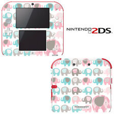 Vinyl Skin Decal Cover for Nintendo 2DS - Elephant Pattern