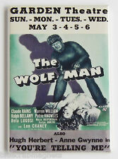 The Wolf Man FRIDGE MAGNET (2.5 x 3.5 inches) movie poster window card