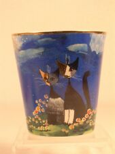 Goebel Rosina Wachtmeister 'Bella & Giornata' Cat Votive  #128176  NEW