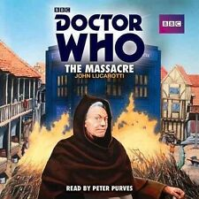 Doctor Who: The Massacre: A 1st Doctor Novelisation (Audio CD) NEW AND SEALED