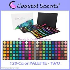 NEW Coastal Scents 120-Color PALETTE TWO Eye Shadow FREE SHIPPING 2nd Second NIB