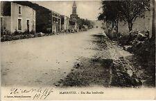 CPA  Marbotte - Une Rue bombardée   (178658)