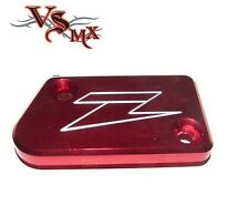 ZETA Front Brake Reservoir Cover Yamaha YZ125 & YZ250 08-16 RED