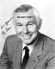 JOHNNY CARSON 8X10 AUTHENTIC IN PERSON SIGNED AUTOGRAPH REPRINT PHOTO RP