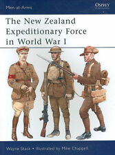 OSPREY MEN-AT-ARMS NEW ZEALAND EXPEDITIONARY FORCE WWI GALLIPOLI PASSCHENDAELE