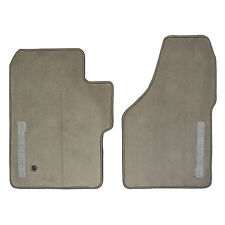 New Ford F250 350 450 Floor Mats Oem Custom F-Series Logo Pickup Truck Tan Beige