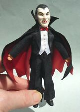 DOLLHOUSE MINIATURE ~ HALLOWEEN ~ COUNT DRACULA DOLL ~ HANDMADE ~ 1:12