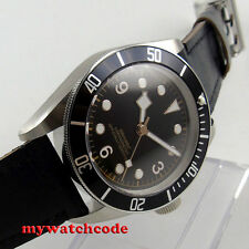 41mm corgeut black sterile dial Sapphire Glass miyota automatic mens Watch P72