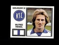 Wilfried Trenkel Karlsruher SC Panini Sammelbild 1981 Original Sign+ A 144455