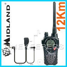 12Km Midland G9E Long Range Waterproof IPX5 Walkie Talkie Two Way PMR 446 Radio
