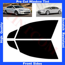 Pre Cut Window Tint Citroen C5 4 Doors Saloon 2008-2012 Front Sides Any Shade