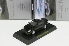 Porsche 911 RS 993 Black 1/64 Kyosho Porsche Minicar Collection 4 Japan 2011
