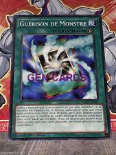 Carte YU GI OH GUERISON DE MONSTRE YGLD-FRA27 x 3