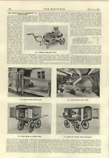 1915 Motor Driving Fruit Press Menu Pump Covered Trucks Electric Agriculture