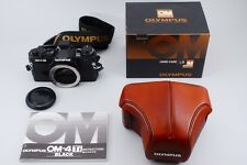 【Excellent+++++】 Olympus OM-4 TI Black 35mm SLR Film Camera w/case from Japan