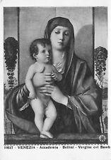 BR17654 Venezia Accademia Bellini Vergine com Bambino postcard italy