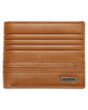 Men's Billabong Phoenix Tan Leather Wallet. RRP $49.99. NWOT.