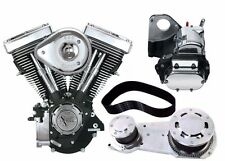 "S&S 80"" 1340cc Evolution Evo Motor Engine Driveline Package Primary Transmision"