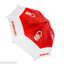 BRAND NEW NOTTINGHAM FOREST FC DOUBLE CANOPY GOLF UMBRELLA.