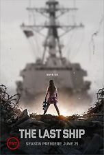 THE LAST SHIP MANIFESTO ERIC DANE RHONA MITRA ADAM BALDWIN MARISSA NEITLING