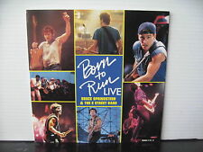 "BRUCE SPRINGSTEEN & THE E STREET BAND Born To Run Live UK CBS RECORDS 7"" VINYL"