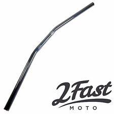 "2FastMoto Suzuki Yamaha Black Drag Handlebar 7/8"" Cafe Racer Chopper Bobber"